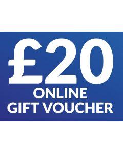CameraWorld £20 Gift Voucher (Online Only)