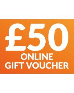 CameraWorld £50 Gift Voucher (Online Only)