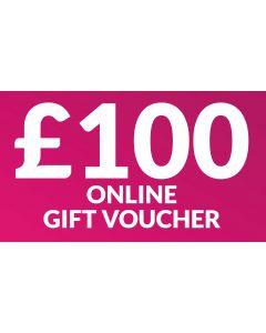 CameraWorld £100 Gift Voucher (Online Only)