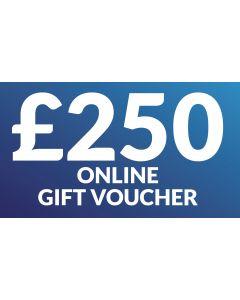 CameraWorld £250 Gift Voucher (Online Only)