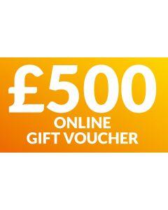 CameraWorld £500 Gift Voucher (Online Only)