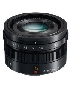 Panasonic 15mm f1.7 LEICA DG SUMMILUX ASPH. Lens