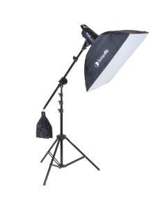 Interfit F121 Single 100w Head Softbox & Boom Arm Studio Kit
