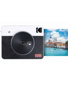 Kodak Mini Shot 3 Square Retro Instant Camera (White)