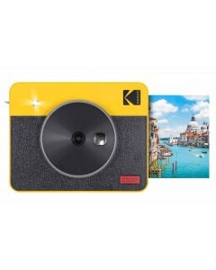 Kodak Mini Shot 3 Square Retro Instant Camera (Yellow)