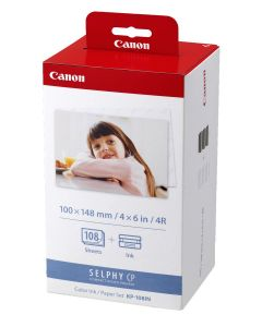 Canon KP-108IN Colour Ink & Paper Set