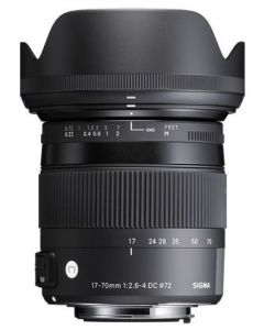 Sigma 17-70mm f2.8-4 DC Macro OS HSM Contemporary Lens (Canon EFs Fit)