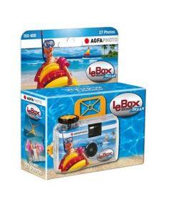 AgfaPhoto LeBox Ocean Waterproof Single Use Camera