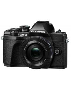 Olympus OM-D E-M10 Mark III Mirrorless Camera & 14-42mm EZ Lens Kit (Black)