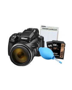 Nikon Coolpix P1000 Digital Bridge Camera Bundle Kit