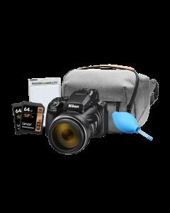 Nikon Coolpix P1000 Digital Bridge Camera Complete Kit