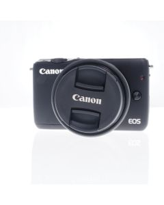 Used Canon EOS M10 Mirrorless Camera Body & 15-45mm Zoom Lens
