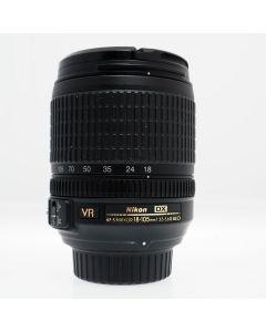 Used Nikon 18-105mm f3.5-5.6G ED AF-S DX VR NIKKOR Lens