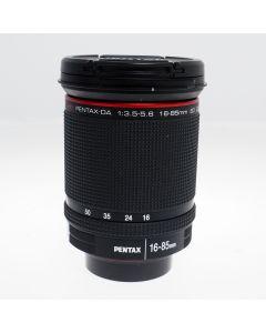 Used Pentax 16-85mm f3.5-5.6 ED DC WR Zoom Lens (Pentax KAF)
