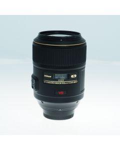 Used Nikon 105mm f2.8G IF-ED AF-S VR Micro-Nikkor Lens