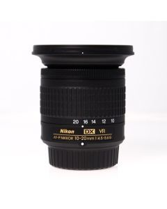 Used Nikon 10-20mm f4.5-5.6G AFP DX VR Wide Angle Zoom Lens