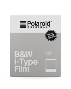 Polaroid Originals: Black & White Instant Print Film for i-Type