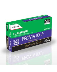 Fujifilm Fujichrome PROVIA 100F 120 Format Film (Pack Of 5)