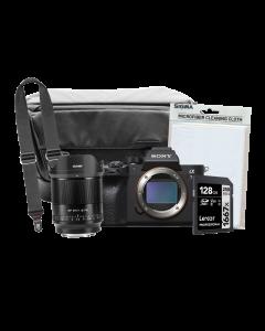 Sony A7R IV Mirrorless Camera Body & Viltrox 24mm f1.8 AF Big Bundle