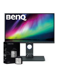 "BenQ SW270C 27"" Photographer Monitor with 2K Adobe RGB & X-Rite i1 Display Pro Monitor Calibrator"