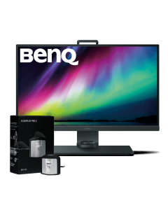 "BenQ SW271 27"" 4K UHD, Adobe RGB Monitor & X-Rite i1 Display Pro Monitor Calibrator"
