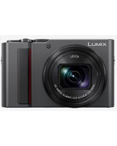 Panasonic Lumix TZ200 Digital Compact Camera (Silver)