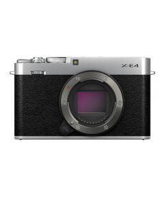 Fujifilm X-E4 Mirrorless Camera Body (Silver)