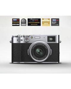 Fujifilm X100V Advanced Compact Digital Camera (Silver)