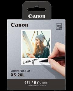 Canon XS-20L Paper Set for QX10 Printer