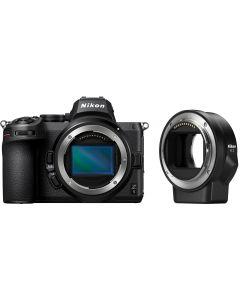 Nikon Z5 Mirrorless Camera Body & FTZ Adapter