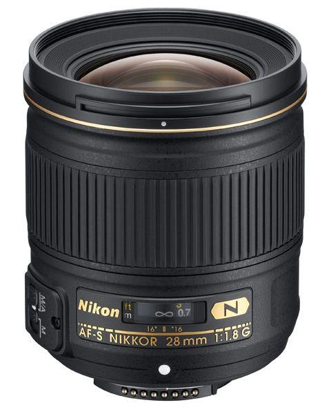 Used Nikon 28mm f1.8G AF-S NIKKOR Lens