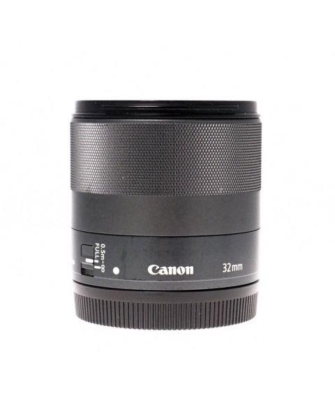 Used Canon 32mm f1.4 STM EF-M Lens