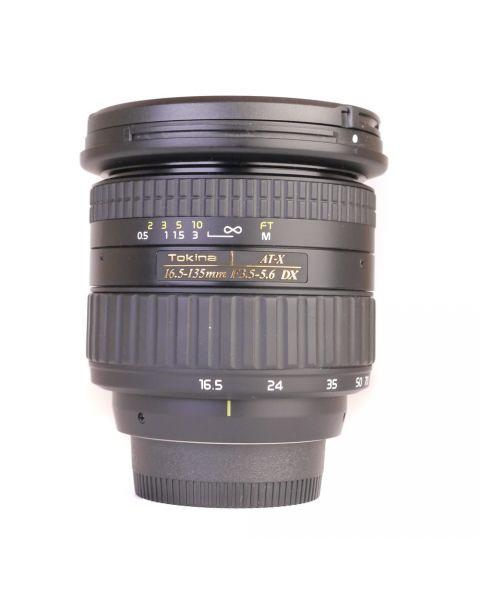 Used Tokina 16.5-135mm F3.5/5.6 ATX-DX (Nikon DX Fit)