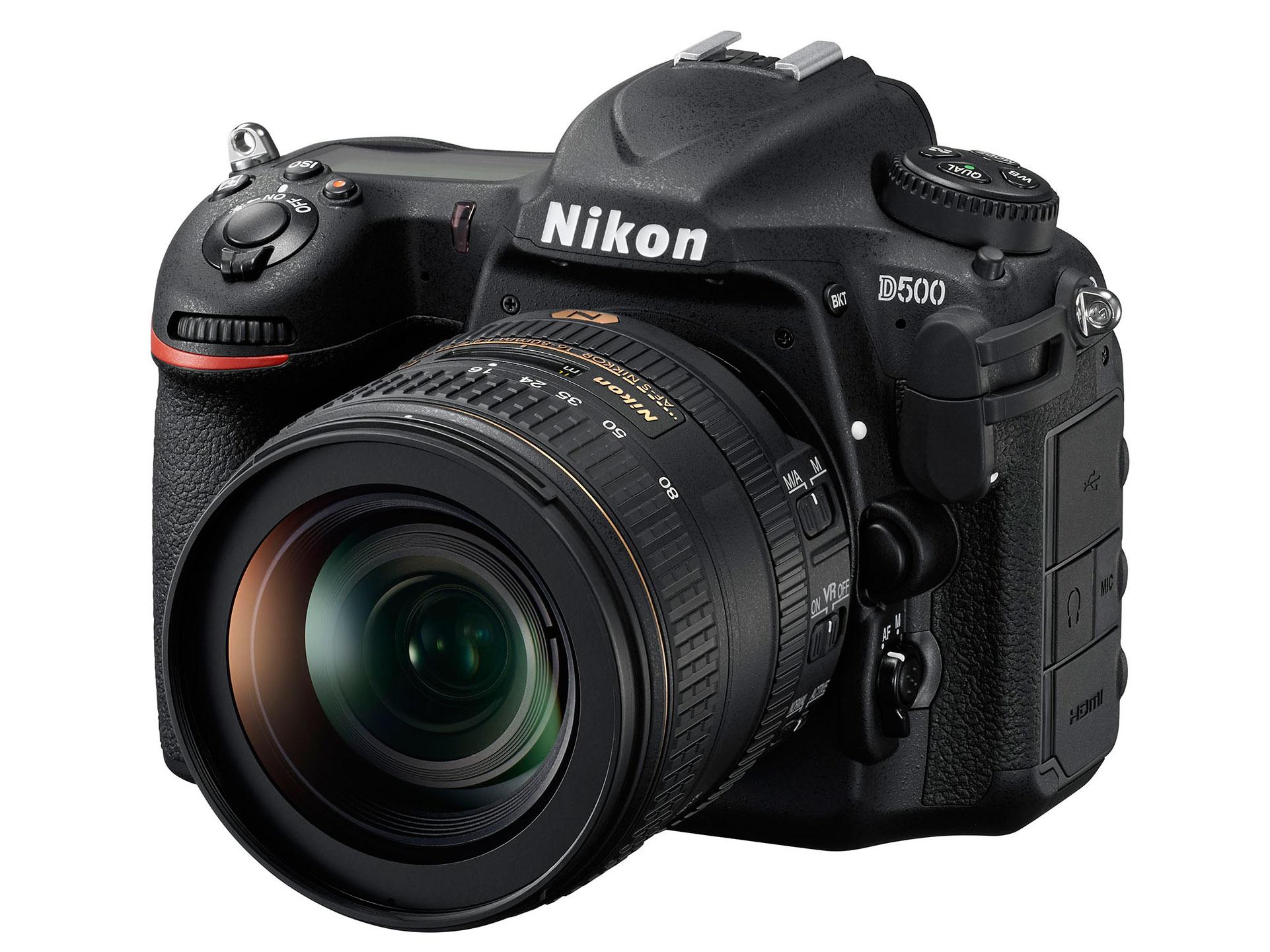 Nikon D500 DSLR Camera & 16-80mm AF-S DX VR Lens Kit