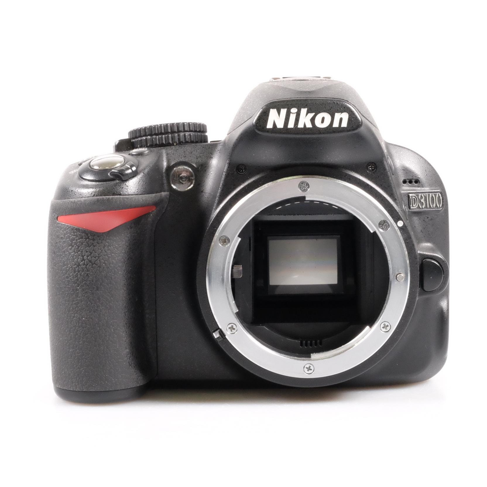 Used Nikon D3100 DSLR Camera Body (3,000 Shutter Count)