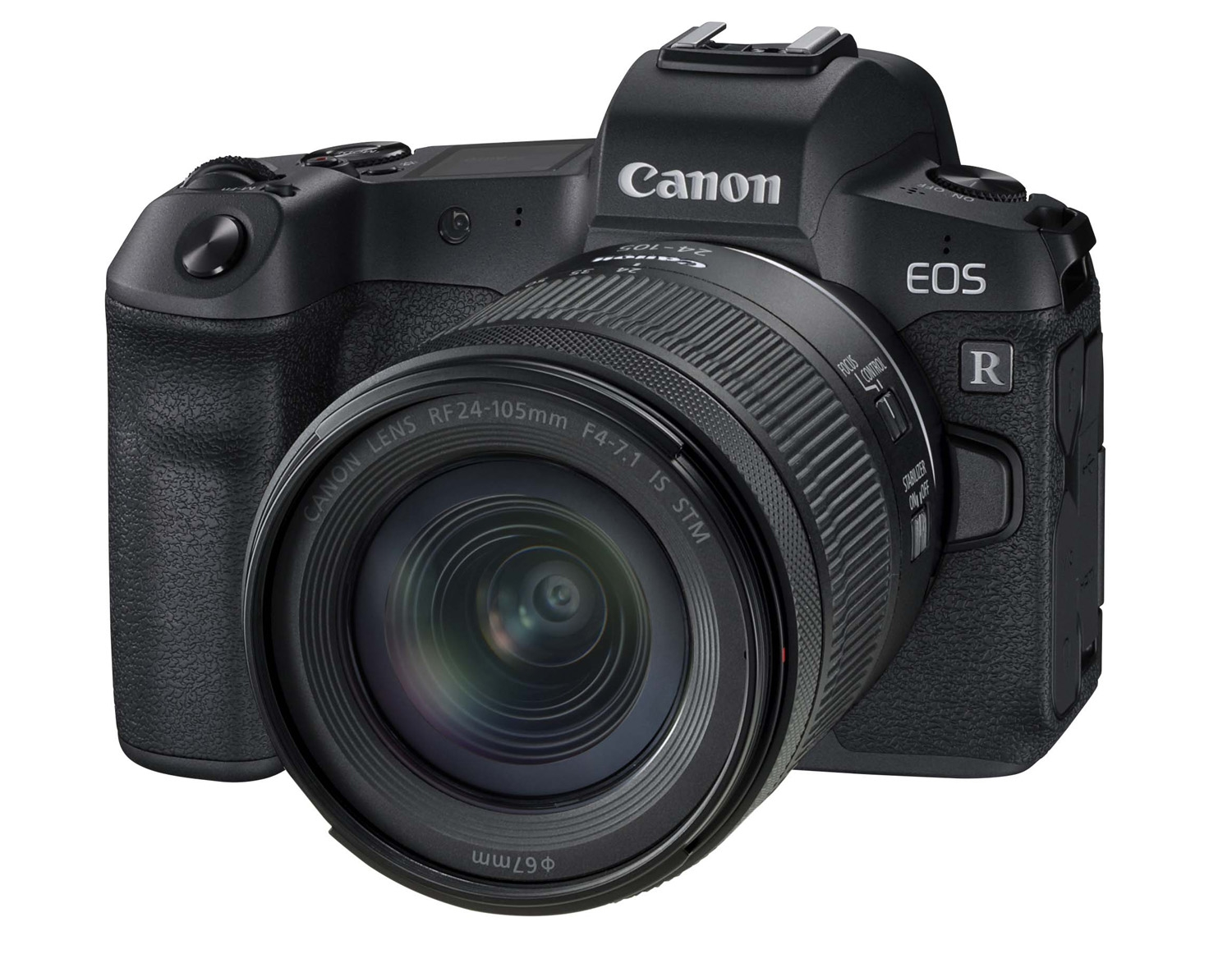 Canon EOS R Mirrorless Camera with 24-105mm f4-7.1 RF IS STM Lens