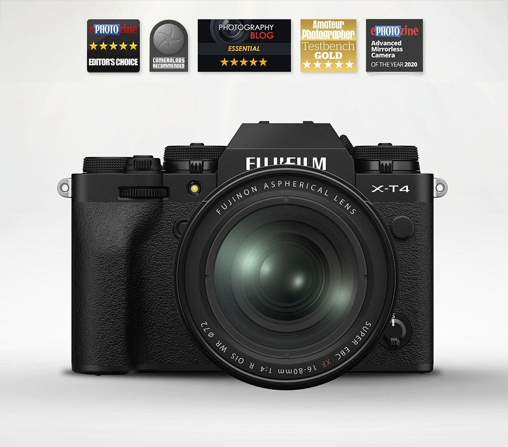 Fujifilm X-T4 Mirrorless Camera & 16-80mm OIS Lens (Black)