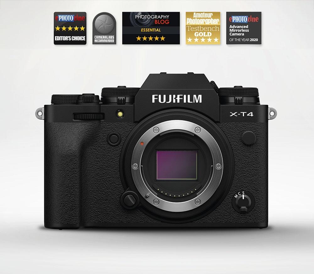 Fujifilm X-T4 Mirrorless Camera Body (Black)