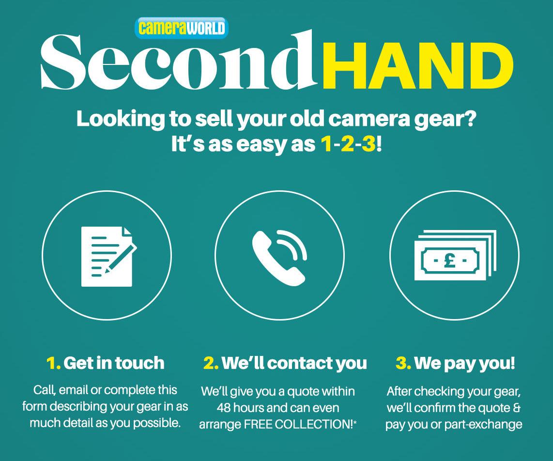 Camera Trade In | Lens Trade in | Sell my Camera