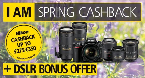 Nikon Lens Cashback with DSLR Bonus has started