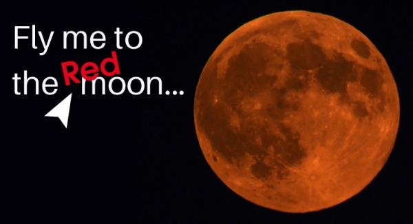 A lunar date for your diary - July 27th