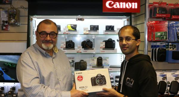 Canon EOS5D MKIII Competition - We have a Winner!
