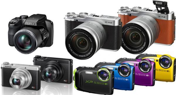 Fujifilm release four new cameras