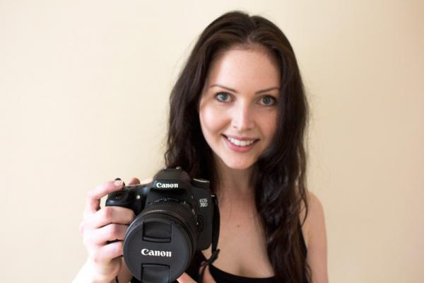 Our Proud & Pleased Winner of the Canon EOS70D