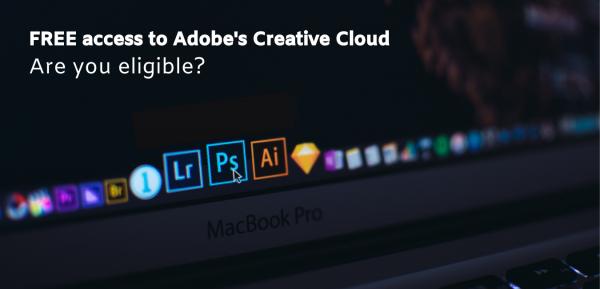 FREE Access to Adobe's Creative Cloud