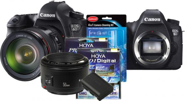 Two Exclusive Canon Kit Deals