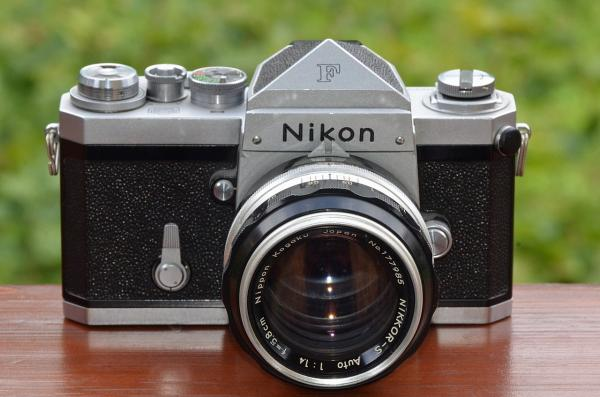 The secret story behind the Nikon F