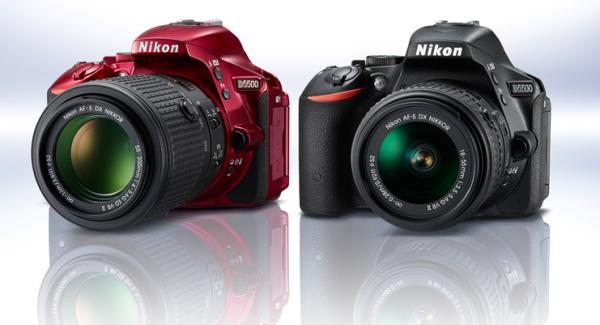 Nikon launch D5500 and 2 Lenses