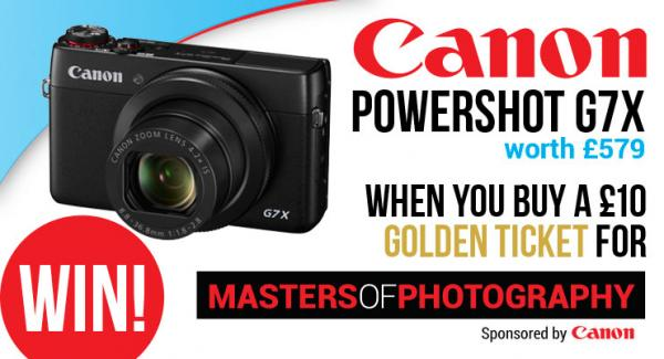 WIN a Canon Powershot G7X at our Show
