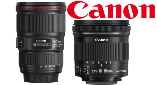 Canon Introduce Two Ultra Wide Angle Lenses